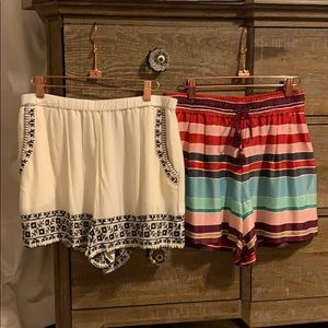 NWOT ANN T. LOFT/AMERICAN EAGLE SHORTS BUNDLE!